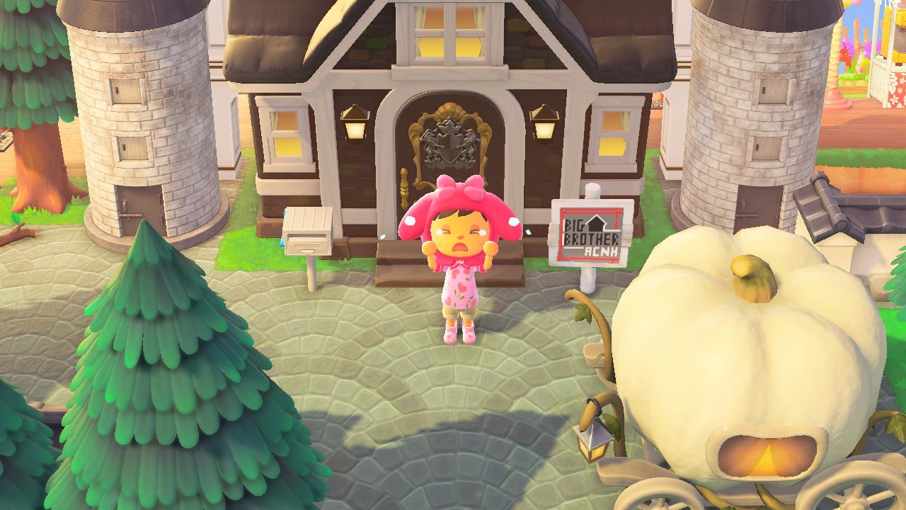 One of the many Animal Crossing island ideas is the set of Big Brother!