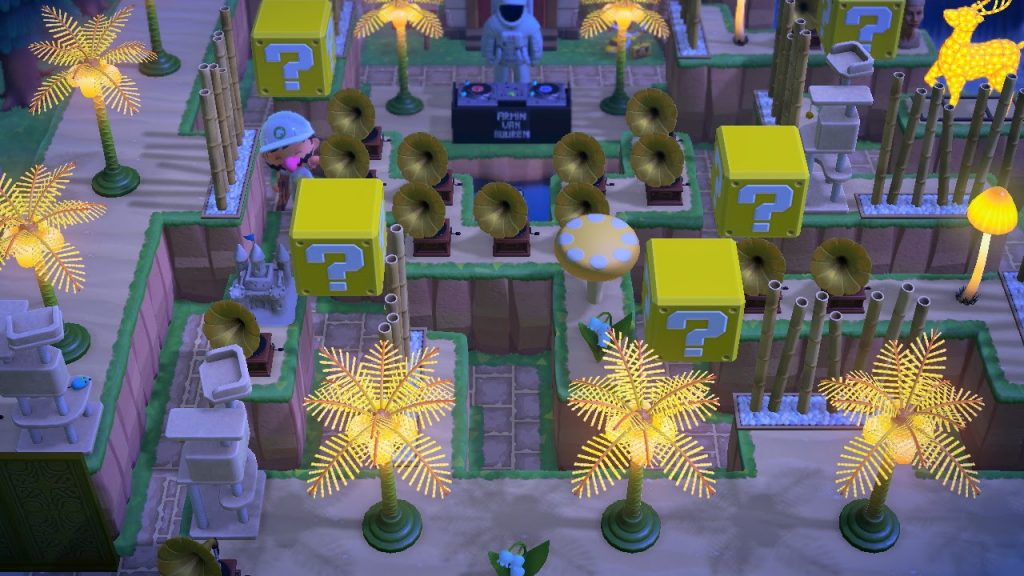 One of the many Animal Crossing island ideas are music festivals.