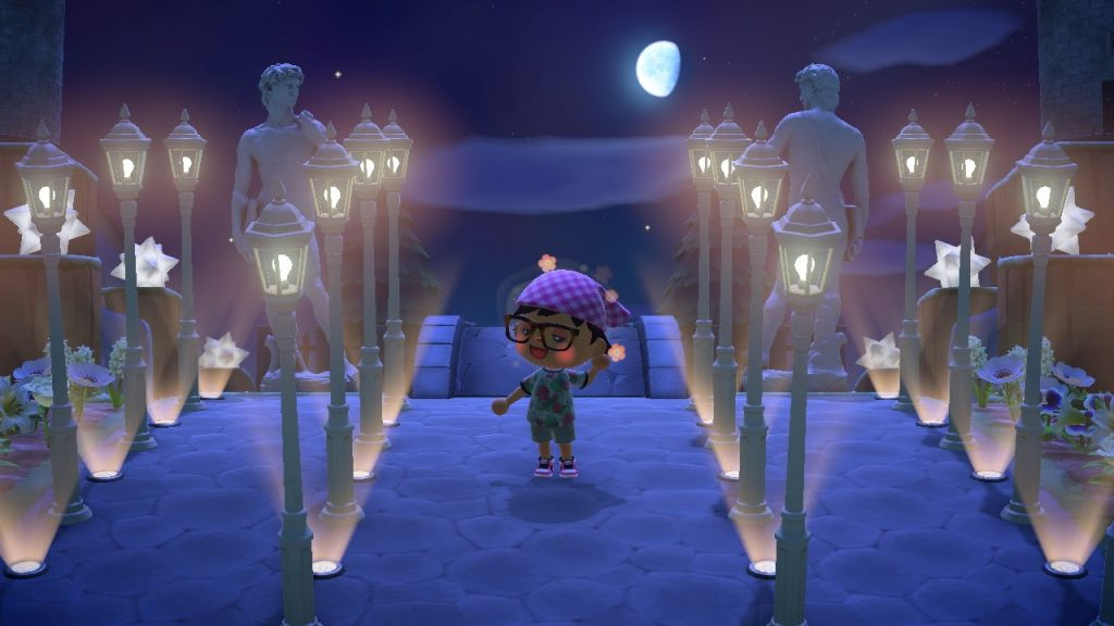 One of the many Animal Crossing island ideas is the LACMA.